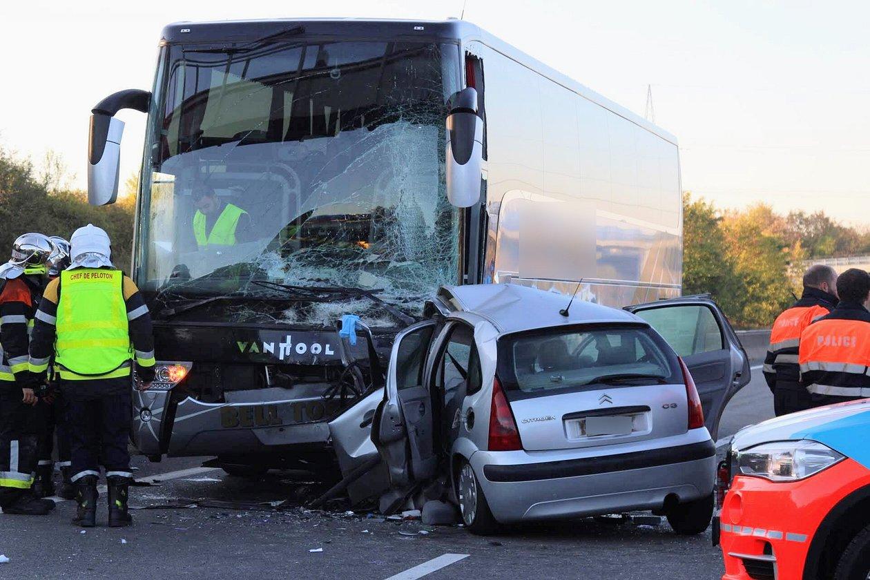 RTL Today - Update & Image gallery: A3 motorway crash: 17