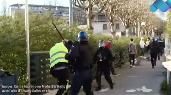 L'IGPN saisie après le matraquage d'un manifestant — Gilets jaunes