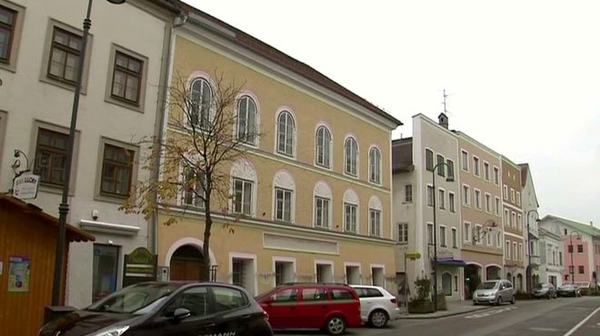 Autriche La maison natale d'Adolf Hitler transformée en poste de police