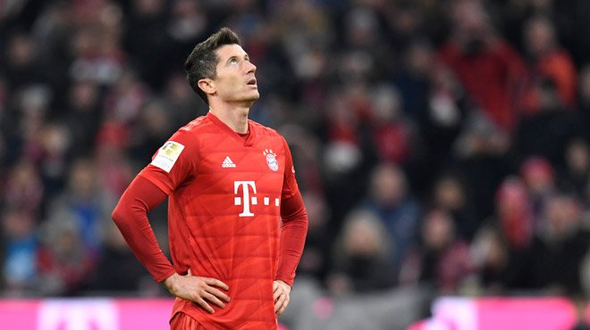 Lewandowski out plusieurs semaines — Bayern Munich