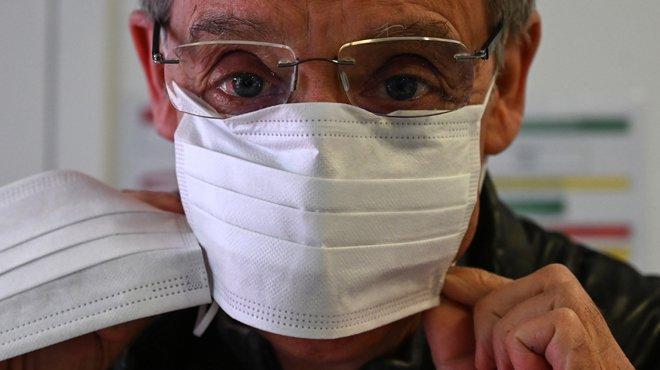 Macron souhaite des masques