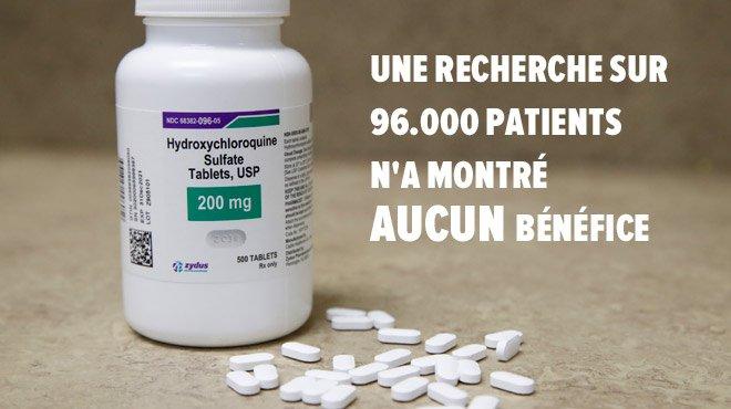 Clap de fin. La France interdit la Chloroquine