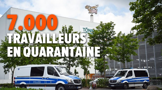 730 personnes testées positives dans un abattoir en Allemagne — Coronavirus