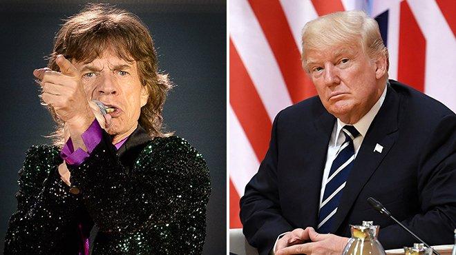 Les Rolling Stones menacent Trump s'il continue d'utiliser l'une de leurs chansons