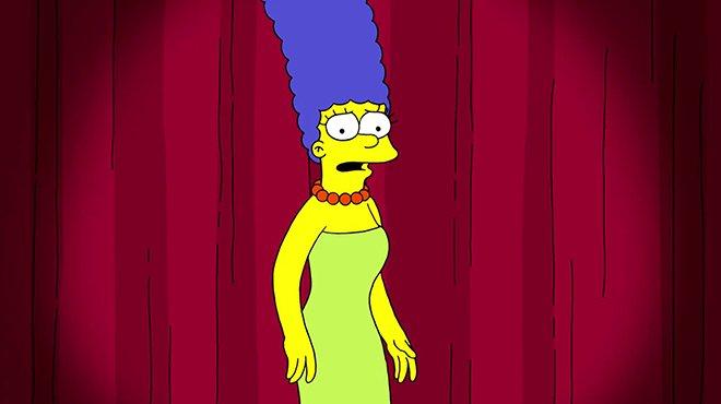 Comparée à Kamala Harris, Marge Simpson réagit vivement