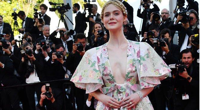L'actrice américaine Elle Fanning s'évanouit lors d'une soirée au Festival de Cannes