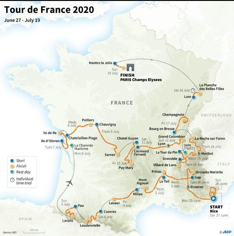 Rtl Today Tour De France Epic Mountain Slog Unveiled For 2020 Tour De France