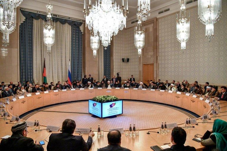 مسکو کنفرانس؛ ګډون کوونکو له افغانستانه د بهرنیو پوځیانو په وتلو ټینګار وکړ