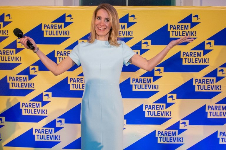 Centre-right party wins plurality in Estonia's parliamentary election