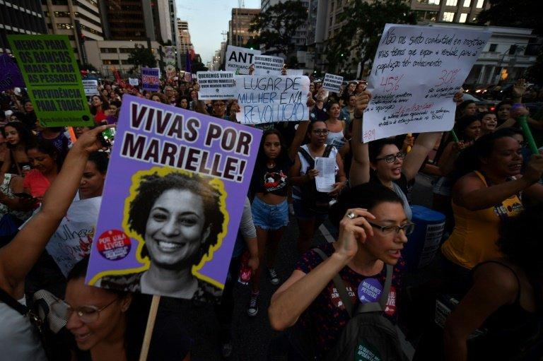 Brazil police: 2 men arrested in killing of Marielle Franco