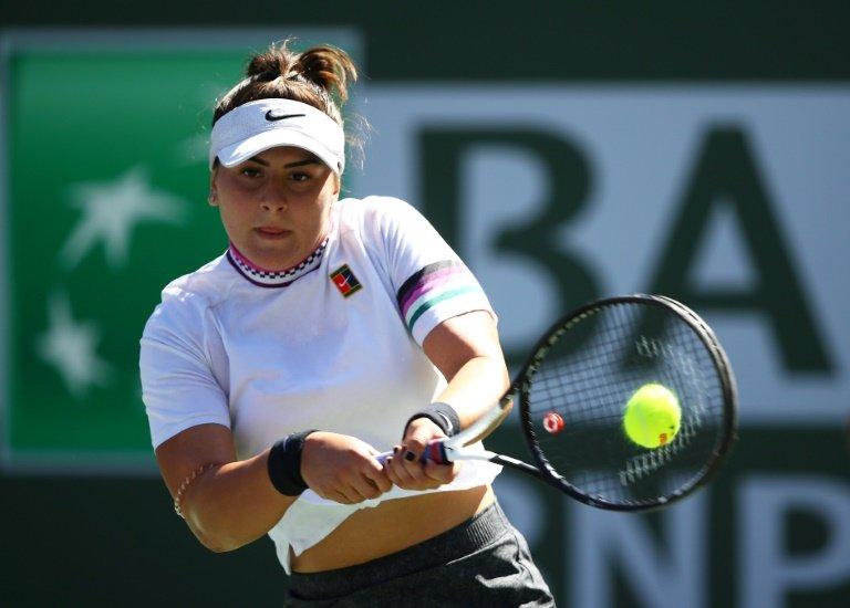 Teenager Bianca Andreescu crushes Garbine Muguruza at Indian Wells
