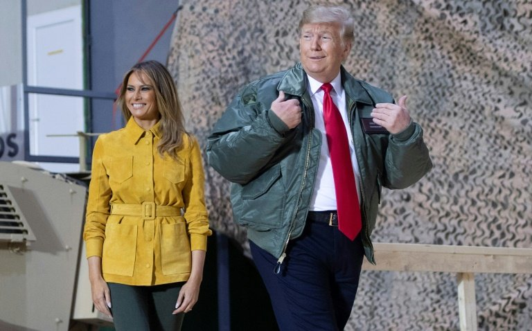 Trump Tweets About the #FakeMelania Hashtag Conspiracy Theory