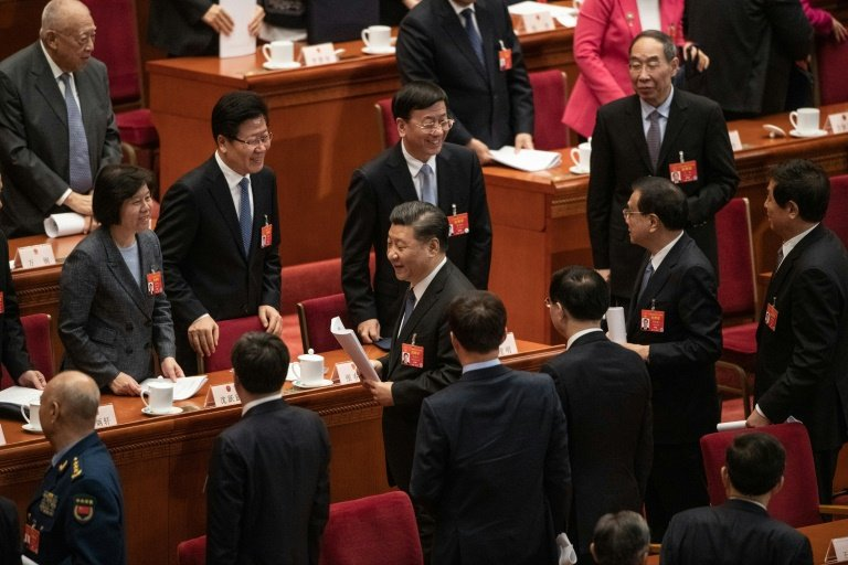 Chinese lawmakers endorse technology law amid US pressure