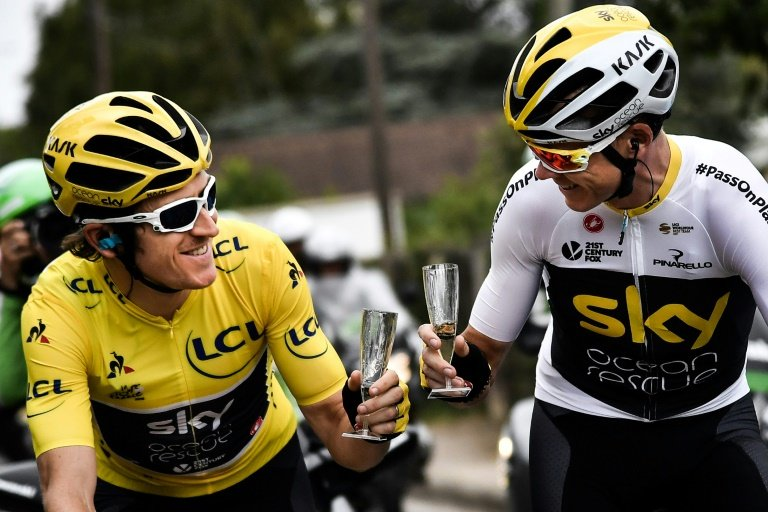 Britain's richest man becomes new sponsor of Team Sky
