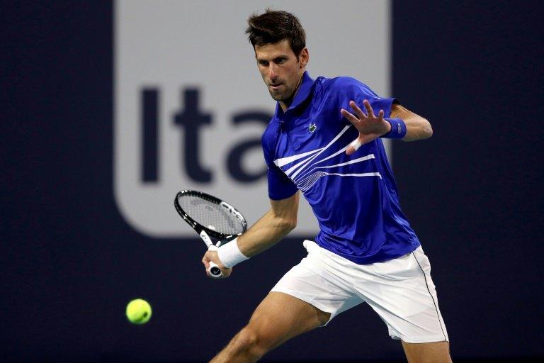 Djokovic, Osaka ease ahead in Miami Open