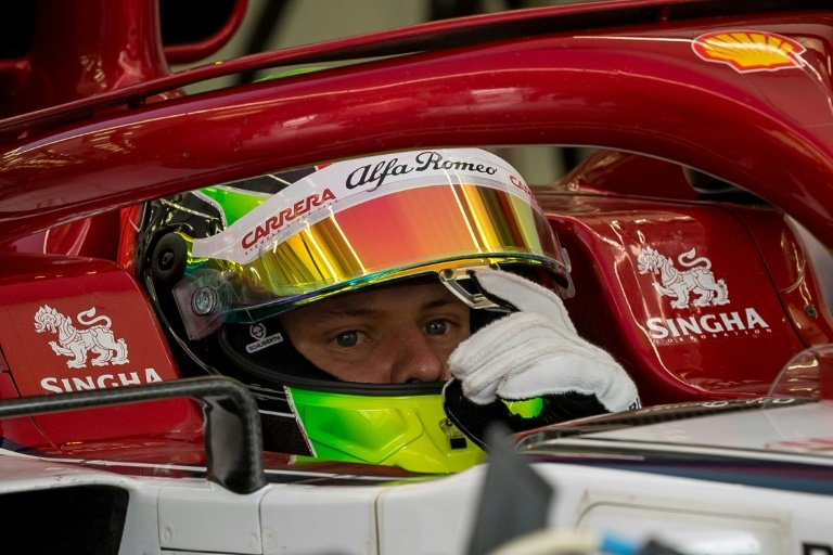 Mick Schumacher second fastest on F1 test debut with Ferrari