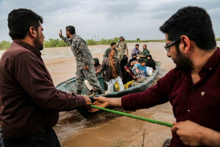 Iran flood death toll rises to 76