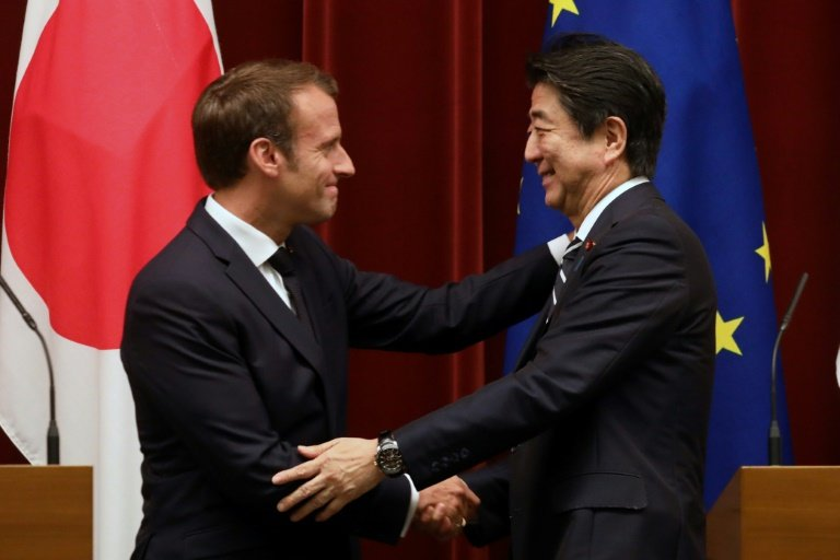 Renault-Nissan stakes should not be changed: Macron