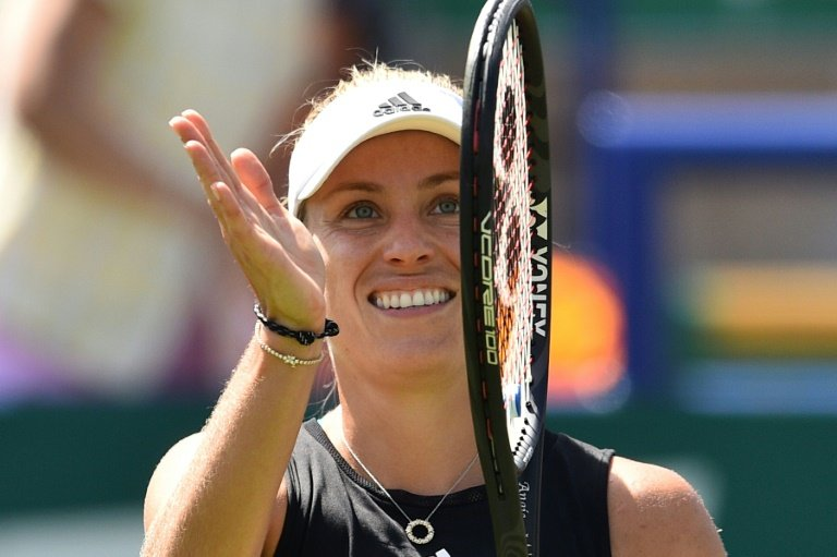 Angelique Kerber beats Simona Halep in quarterfinals at Eastbourne
