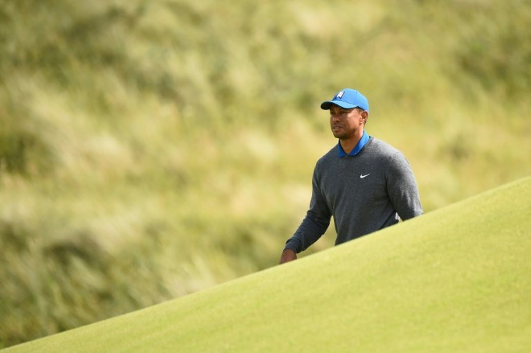 Tiger struggles to opening 78 at The Open