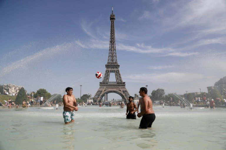 Paris scorches in historic drought as heatwave intensifies in Europe