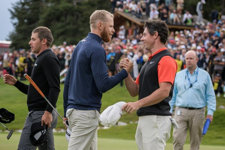 Soderberg slays McIlroy, wins European Masters in playoff