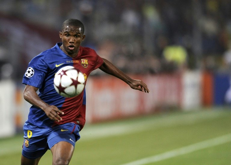 Ex-Barcelona, Inter forward Eto'o retires at 38