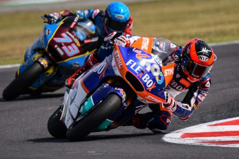 RTL Today - Spain's Fernandez wins Moto2 thriller in San ...