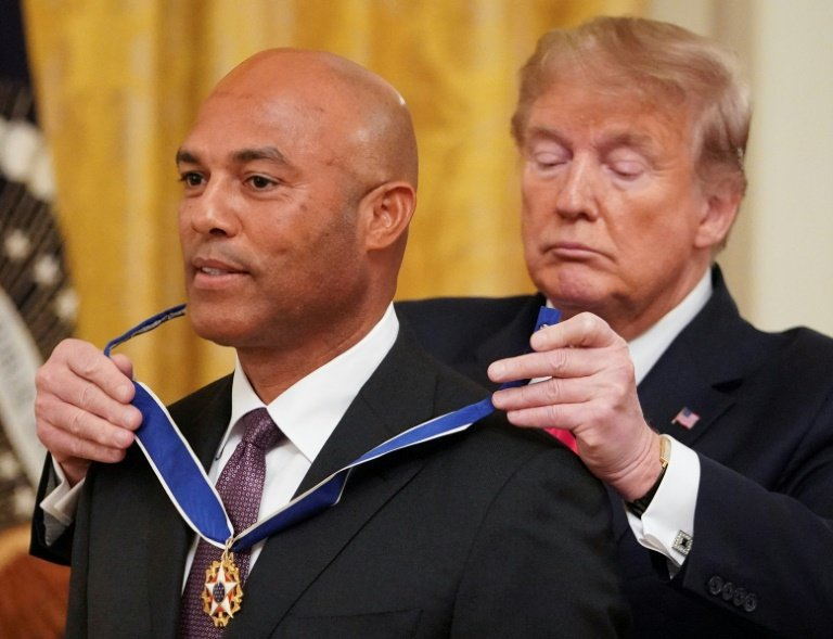President Donald Trump Falsely Claims Mariano Rivera Debuted In 1955