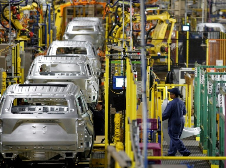 US factory output rises more than forecast in broad advance