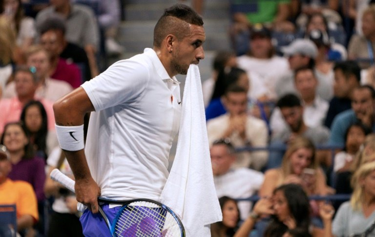 Kyrgios handed suspended ban, additional fine for Cincinnati outburst