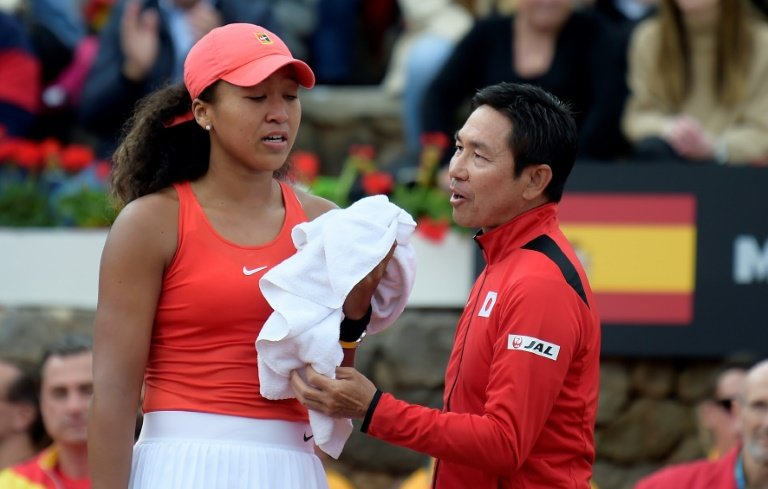 Tearful Naomi Osaka suffers stunning Fed Cup defeat