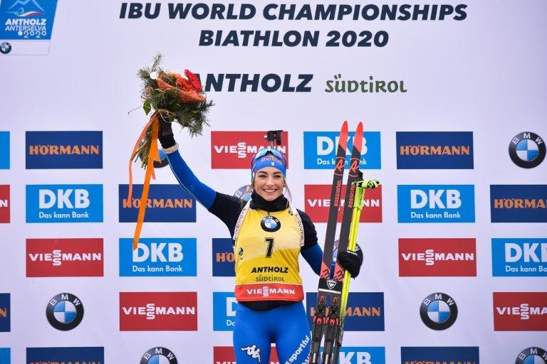 L'Italienne Dorothea Wierer vainqueur de sprint — Mondiaux de biathlon