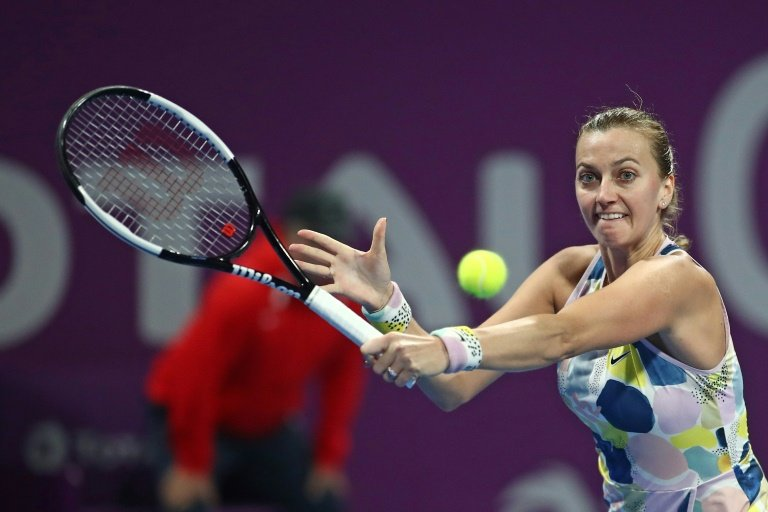 Barty sets up Kvitova semi-final after downing Muguruza in Doha