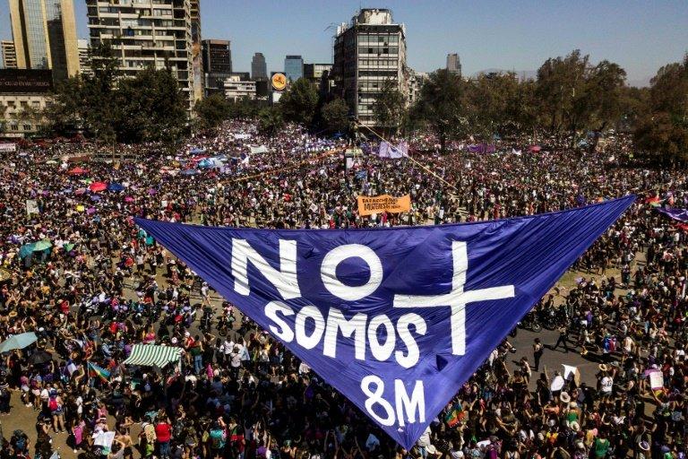 Une manifestation pour la journée internationale des droits des femmes — Narbonne
