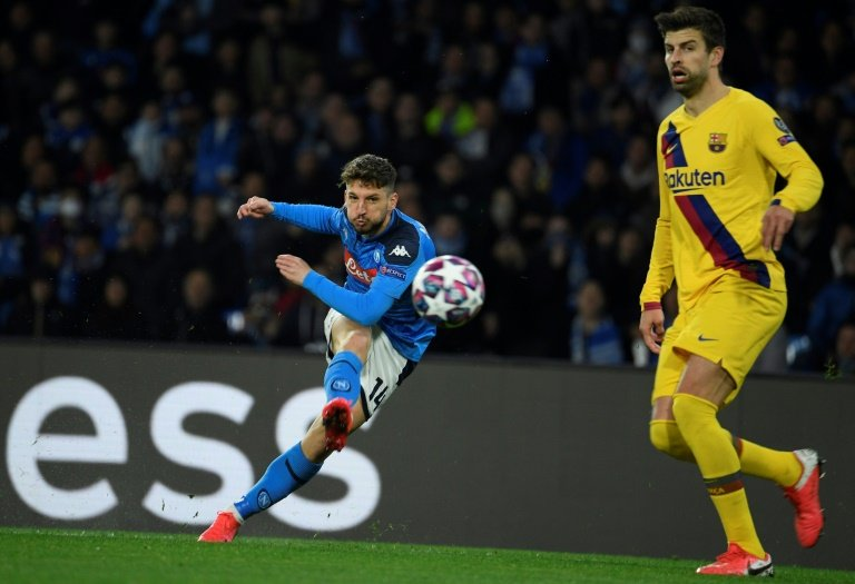 Wants closed doors for Barca-Napoli