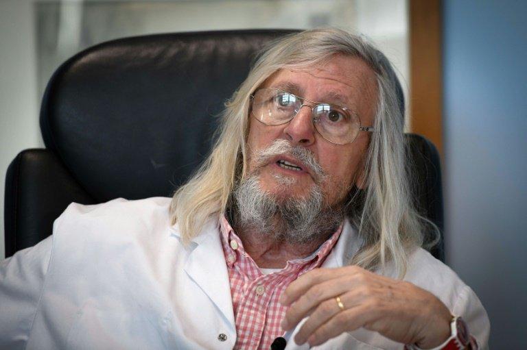 Le professeur Didier Raoult rend publics les résultats d'une deuxième étude