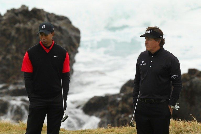 Woods, Mickelson et les stars du foot américain pour lever des fonds