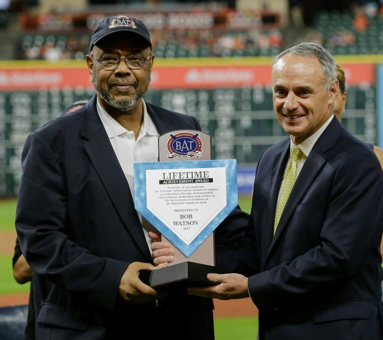 Former All-Star, GM Bob Watson dies at 74