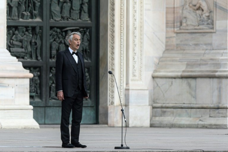 Andrea Bocelli Confirms He Tested Positive for COVID-19