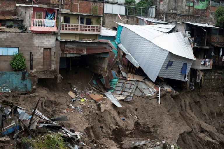 Tropical storm kills 17 in El Salvador and Guatemala