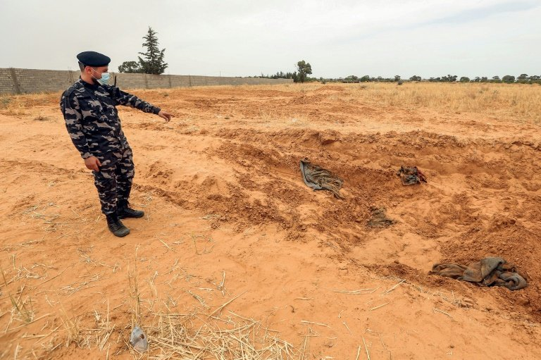United Nations expresses 'horror' over reports of Libya mass graves