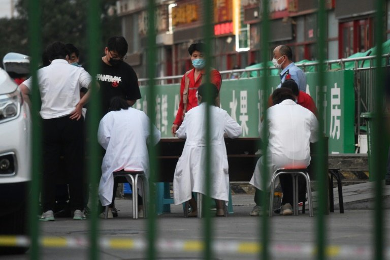 Chinese capital reports 36 confirmed new coronavirus cases on June 13