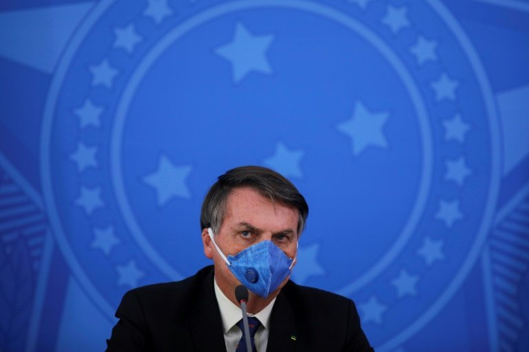 Brazil's Jair Bolsonaro tests positive for coronavirus