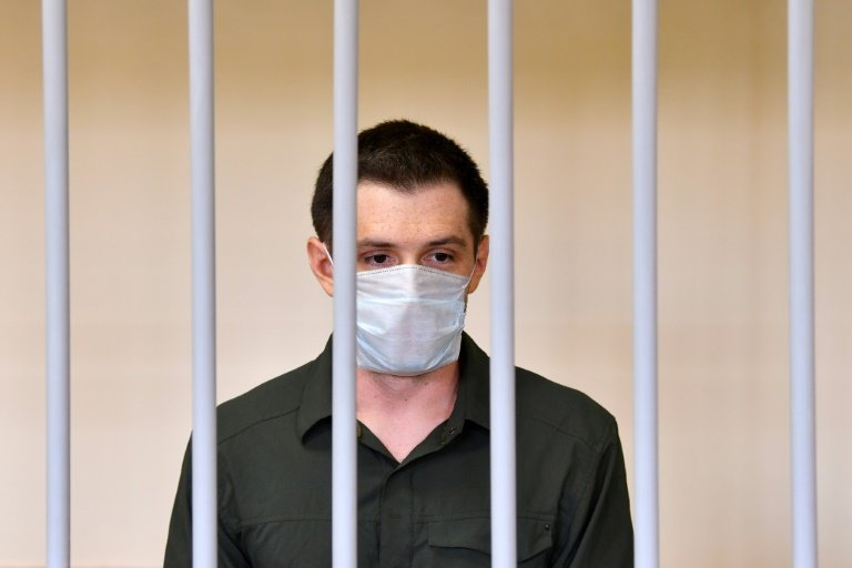 Russian Federation  hands US  student long jail term on police assault charge