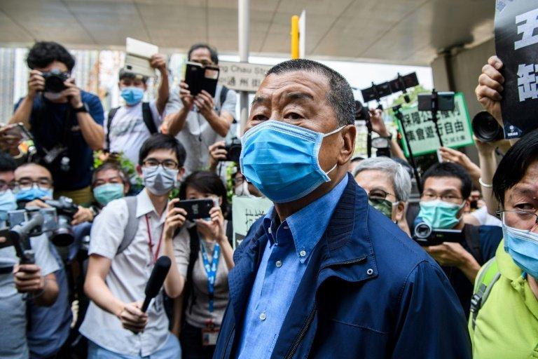 Arrestation de Jimmy Lai, figure de la contestation contre Pékin — Hong Kong