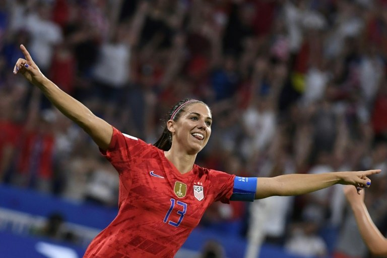 United States forward Alex Morgan set to join Tottenham