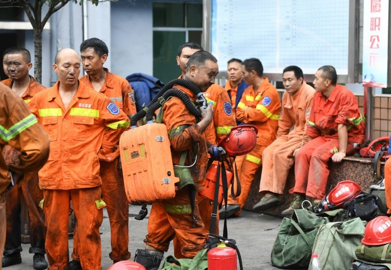 17 trapped in southwest China coal mine accident_china