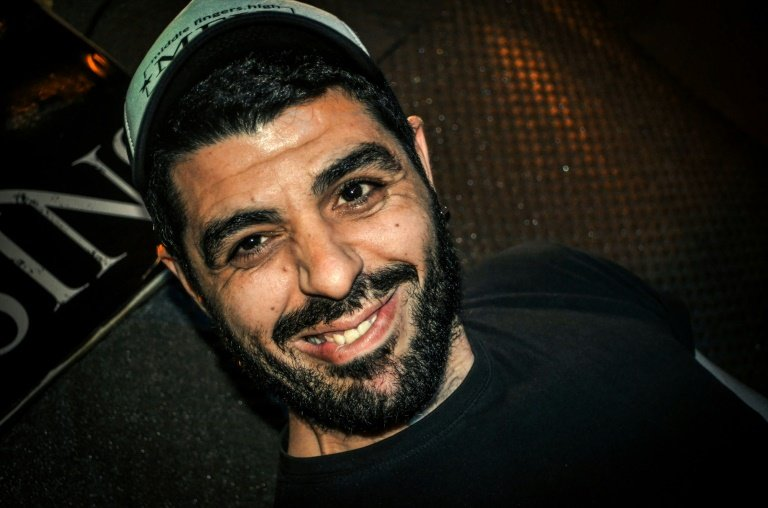 Anti-fascist rapper Pavlos Fyssas whose murder sparked the crackdown on Golden Dawn.     AFP  File
