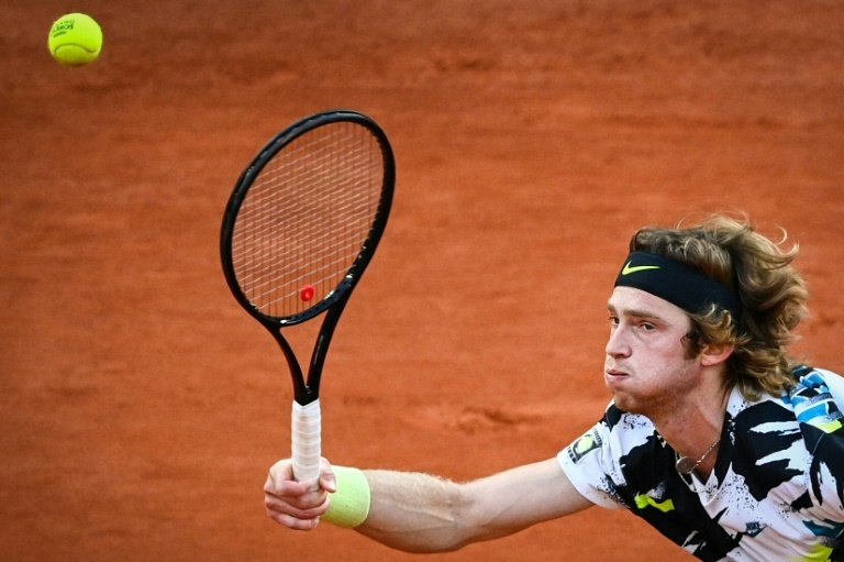 London calling? 'Unreal' Rublev edges ATP Finals rival in St Petersburg